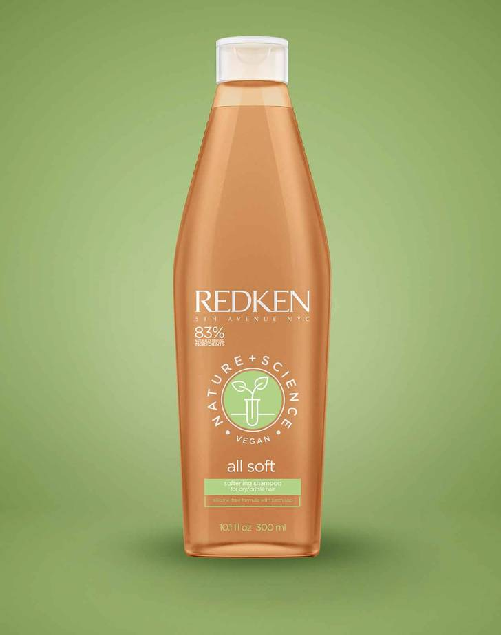 Nature + Science All Soft Shampoo Af Redken